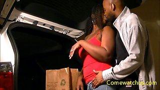 Ebony Wife...has Pussy so Wet It Creams like Milk