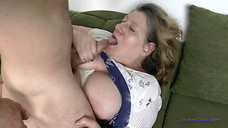 busty big ass bbw granny