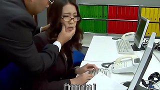 Subtitles - Boss fucked her japanese secretary Ibuki