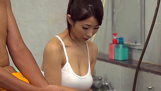 A Japanese Housewife turned Sauna Service Lady