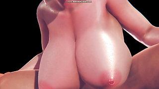 3d CG animation sex