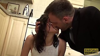 Pascal White And Valentina Bianco - Loves Rough Throat Fuck