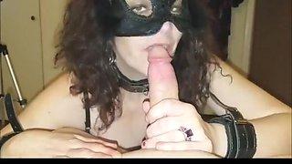 Fabulous homemade cougar, blowjob, glasses sex movie