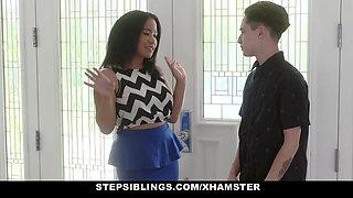 StepSiblings - Fucking Her Sisters Blind Date