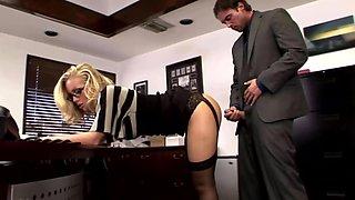 XXXJoX Nicole Aniston Bad Secretary