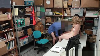 Shoplifters Bonnie And Maya Punished In Office