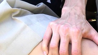 Athletic busty cougar in ffm assisting her stepdaughter