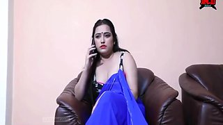Home Alone Bhabhi. Blowjob & Romance With Brothers Wife