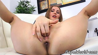 Glamcore beauty buttfucked in doggystyle
