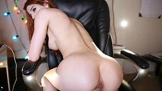 Lustful Redhead Teen Filmed Herself While Seducing You