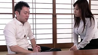 Stacked Japanese mom has a fiery pussy needing to be drilled