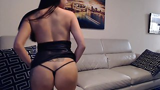 Young, tight Asian Army Wife Gets Drunk & Cant Wait on her Husband anymore