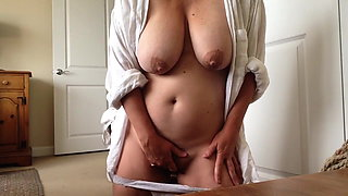 pulled my panties down for a very quick orgasm