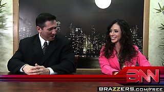 Brazzers - Big Tits at Work -  Fuck The News