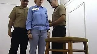 Prison Caning and Birching