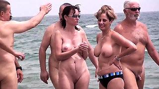 Beach Voyeur Amateurs Public Nude Beach Compilation Video