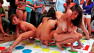 It is never too many naked girls having some fun