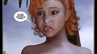 3D Comic: Dragon Rider. Episode 1