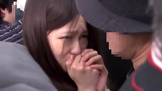 Bus groping - young lady molested 01
