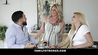 Cute Lonely Stepmom Lolly Dames Rides Stepson's Big Cock