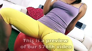 PUFFY Pussy CAMELTOE Queen In TIGHT SPANDEX has also BIG ASS