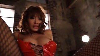 Crazy Japanese model Kirara Asuka in Amazing Striptease, Handjobs JAV movie