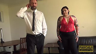 PASCALSSUBSLUTS - Kinky BBW Lily Brutal Rough Fucked by Daddy