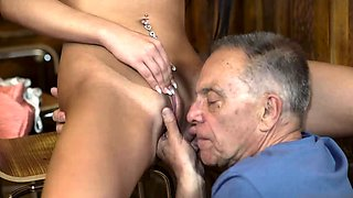 Teen solo sauna and tiny pussy When he left, his father came