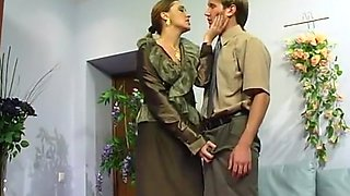 Russian boss seduce junior boy - Helena