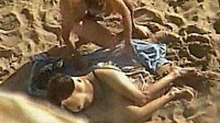 Banging On A Sandy Beach