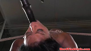 Busty milf dominated and restrained