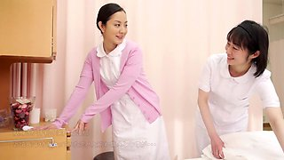 Amazing Japanese slut in Fabulous Nurse JAV movie