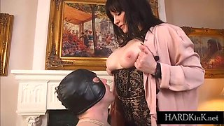 mistress uses her slave for fun partial scenes