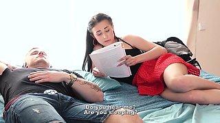 Nicole Love - Darkhaired Czech Babe Seduces Her Bfs Father