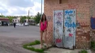 Crazy Solo Girl movie with Outdoor,Czech scenes
