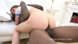 A Big Black Dick Smashes the Ass of Evelina