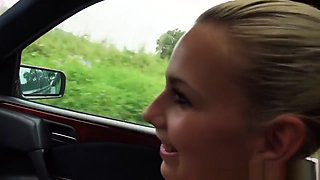 Pulled Teen Public Fucking In Car After Bj