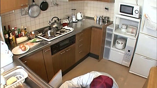 A Naked Japanese Housewife In A Bath Towel 2-5