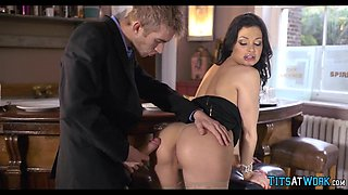 Aletta Ocean devours his Dick