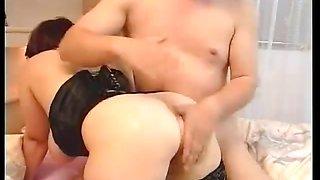 Busty European Housewife Fucked Hard
