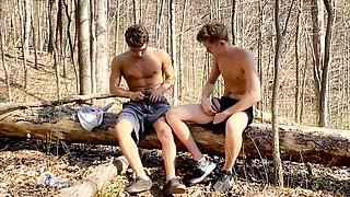 Friends Raw Fucking In The Wood Boys Porn