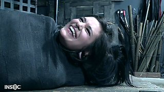 Incapacitated completely and abused hardcore slutty teen Luna Lovely