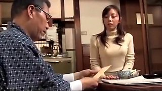 Japanese father in law cheating his daughter (Full: bit.ly/2D6w2W8)