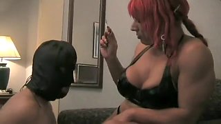 Horny Amateur clip with Femdom, Fetish scenes