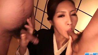 Perfect Japanese blowjob withKoyuk - More at 69avs.com
