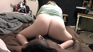 Daddies Little Girl Reverse Cowgirl Rides Bbc ;)