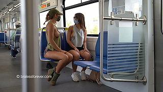 Nipslip on the Train