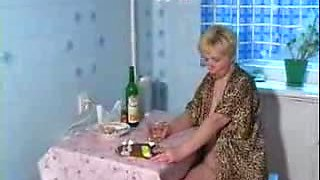 Aunt and guy drunk sex