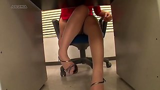 Fetishism Lower Body In The Office