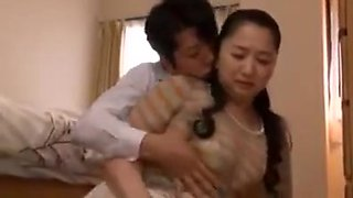 Mother Touched By Her Son